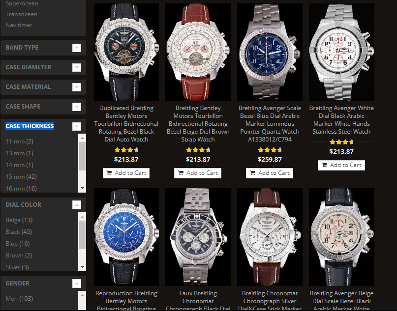 replica breitling watches swiss movement