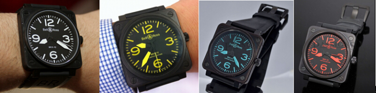 Replica Bell ross timepieces